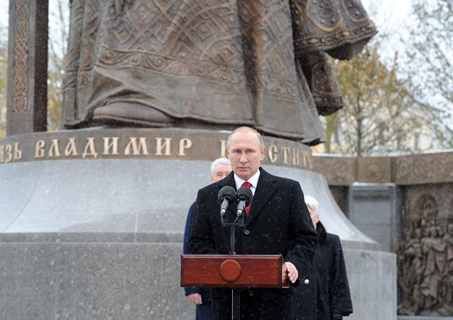 بوتين يحضر حفل افتتاح الأمير فلاديمير