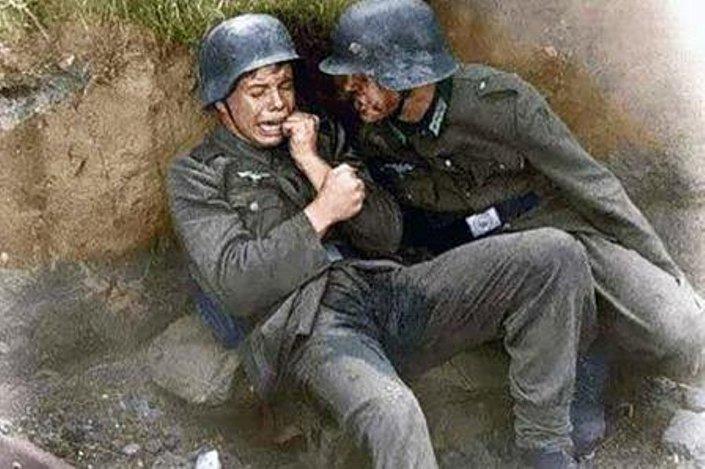 صورة تعبيرية للجنود الألمان