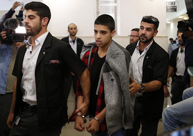 الفلسطيني أحمد مناصرة