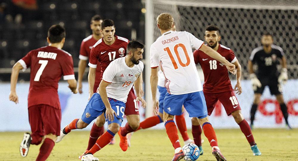 مباراة قطر وروسيا