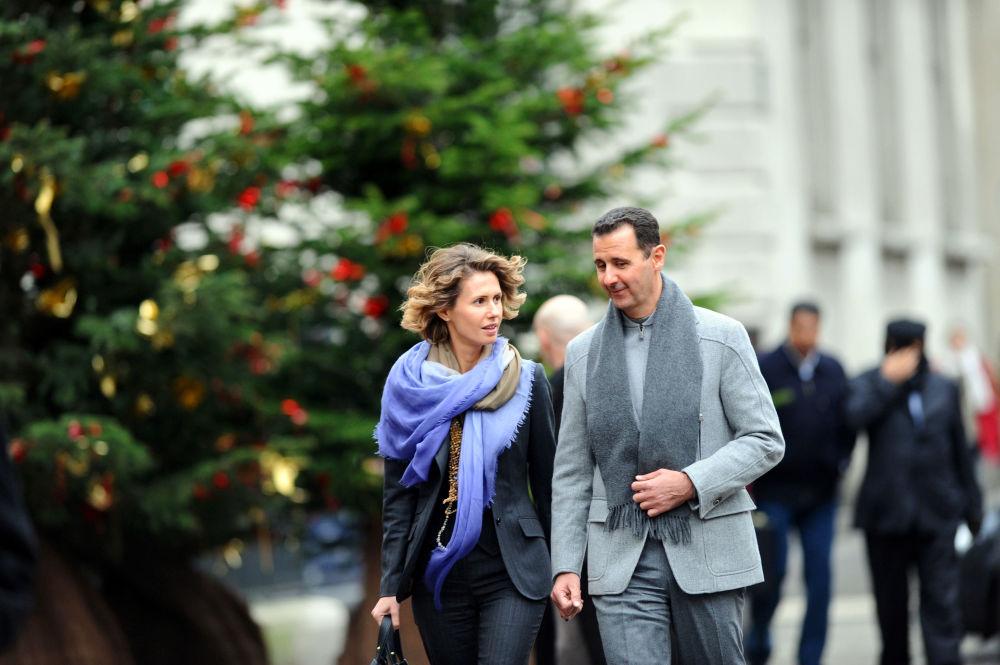 السيدة الأولى أسماء الأسد، زوجة الرئيس السوري بشار الأسد، 2010