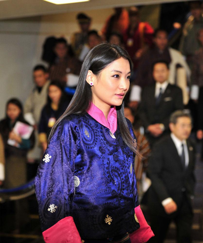 الملكة جيتسون بيما وانغتشاك لمملكة بوتان في جنوب آسيا ، 2011