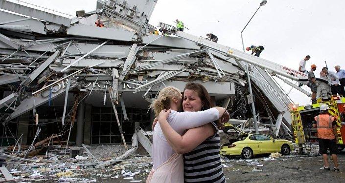 زلزال نيوزيلاندا