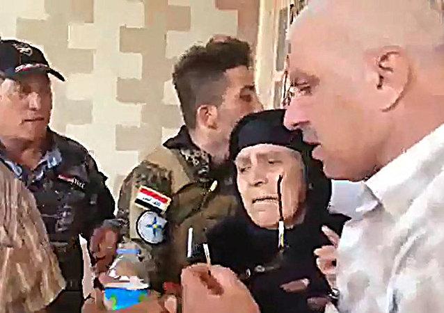 امرأة عراقية تاريخية صمدت بوجه داعش
