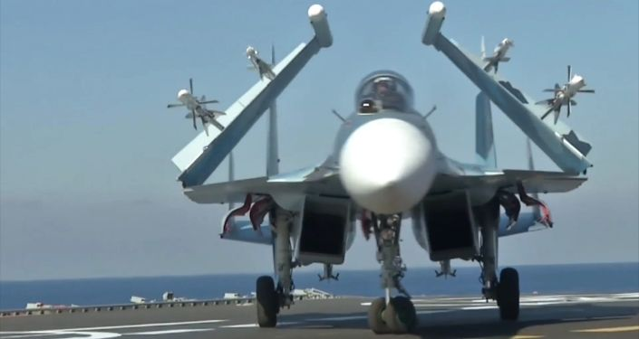 القوات الجوية الروسية أثناء مشاركتها في العملية العسكرية في سوريا