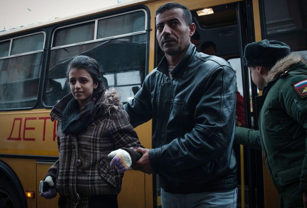 نقل الأطفال السوريين إلى روسيا لتلقي العلاج في الأكاديمية الطبية العسكرية بمدينة سانت بطرسبورغ