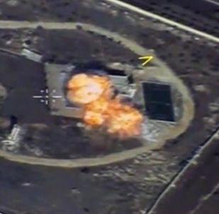 قصف مواقع الإرهابيين في سوريا