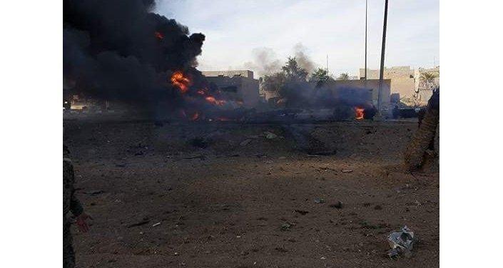 انفجار غربي العراق