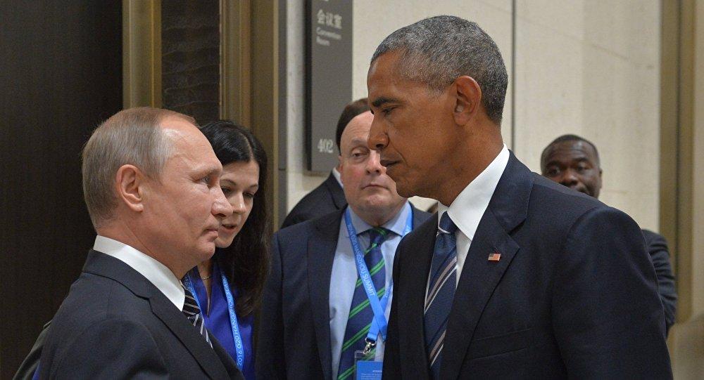 فلاديمير بوتين وباراك أوباما