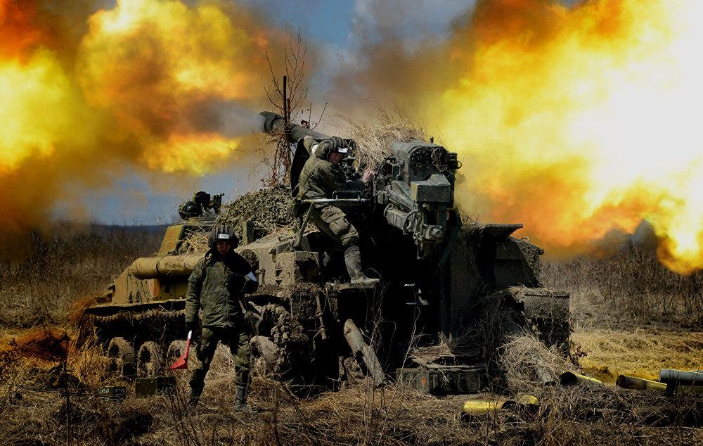 المدفعية الروسية في المنطقة العسكرية الشرقية