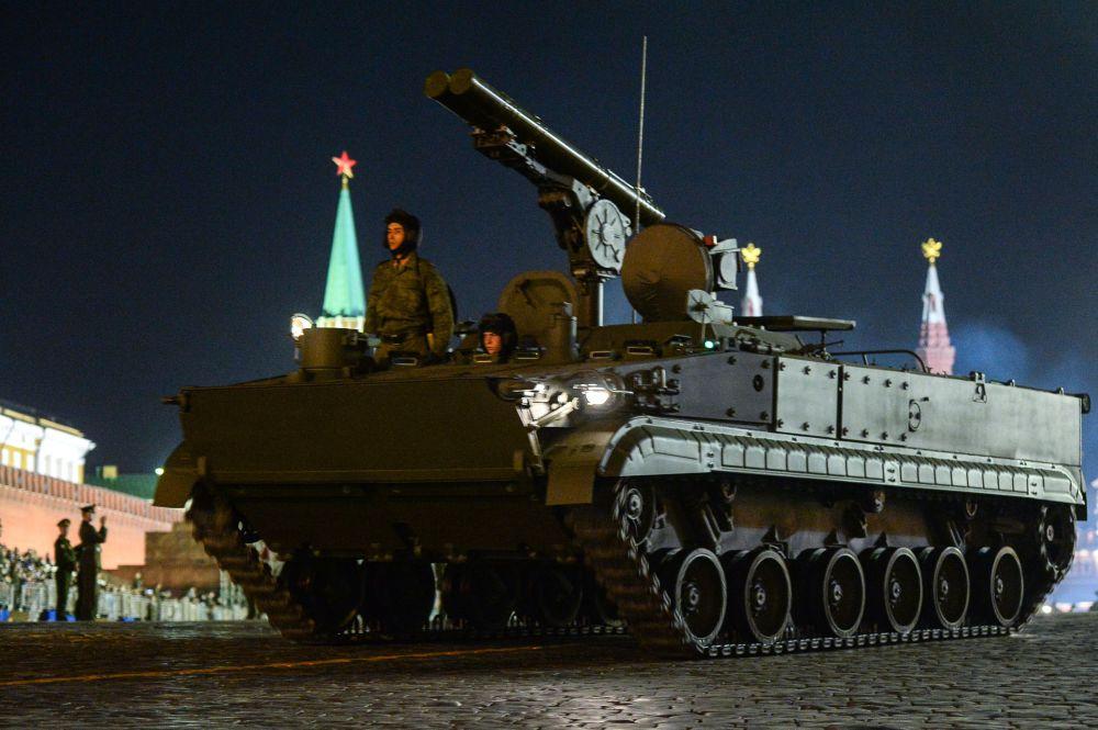 منظومة الصواريخ المضادة للدبابات خريزانتيما-إس