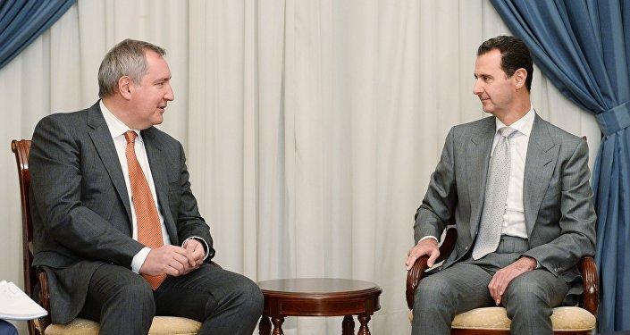 روغوزين و الأسد