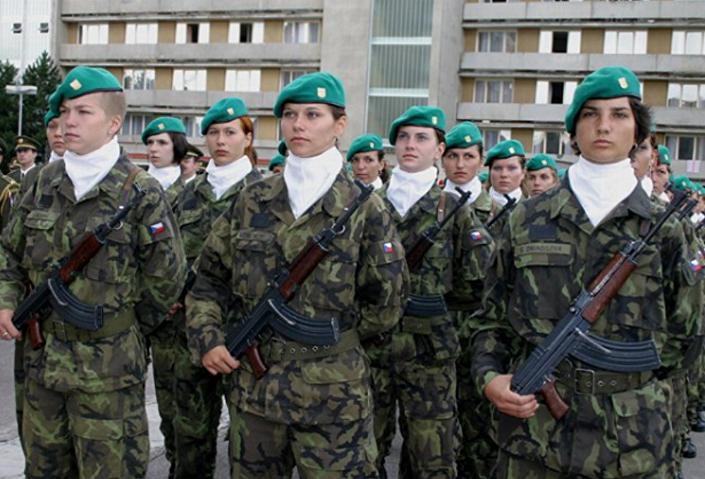 القوات المسلحة التشيكية
