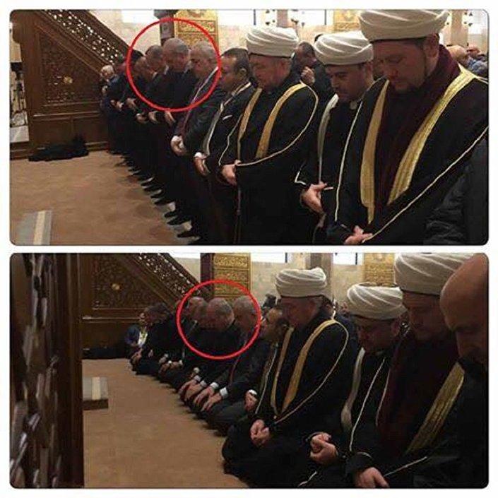 رئيس بيلاروسيا يشارك فى الصلاة
