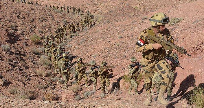 تدريب عسكري بين الجيش المصري والأردني