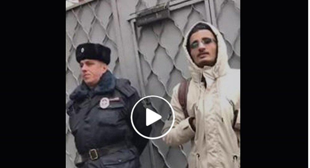 اعتصام للطلاب اليمنيين أمام السفارة اليمنية