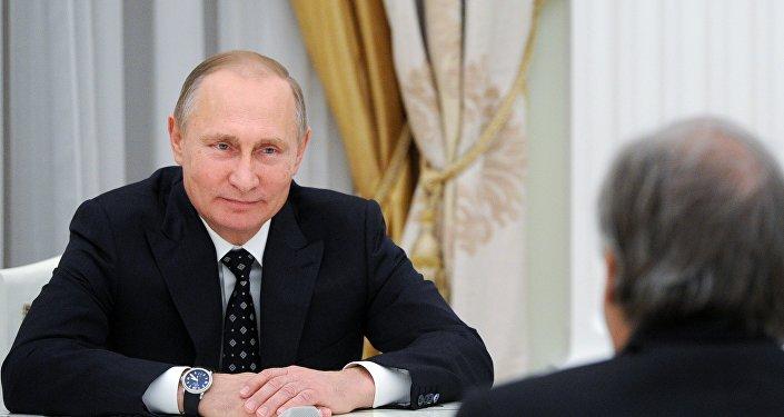 فلاديمير بوتين، الرئيس الروسي