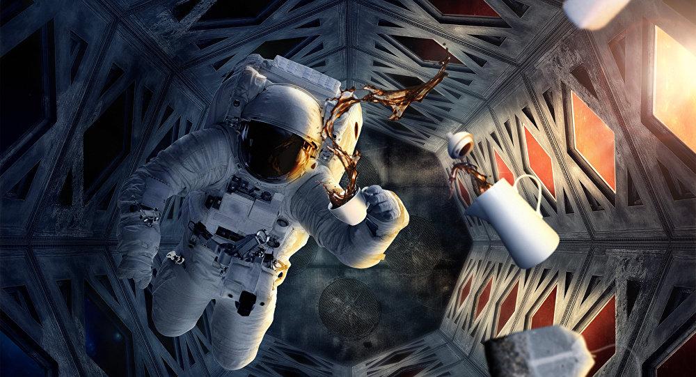 القهوة في الفضاء