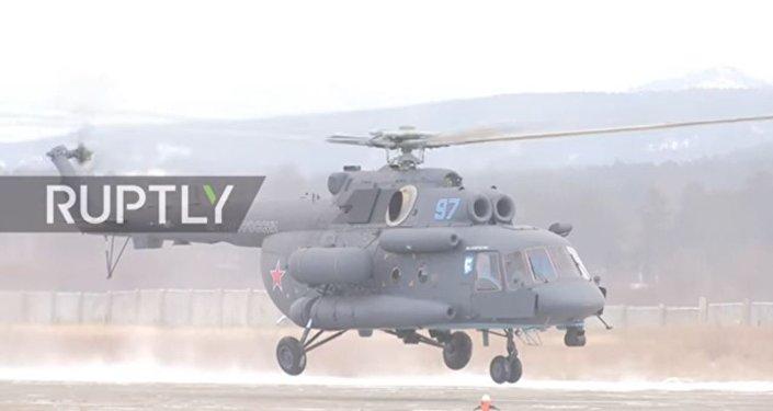 هليكوبتر روسية