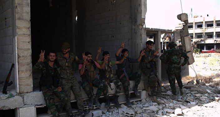 جنود سوريين