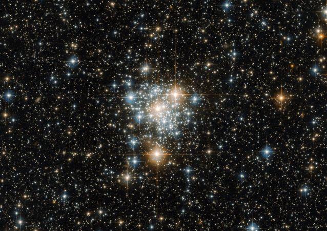 تجمع النجوم في سحابة ماجلان الصغرى