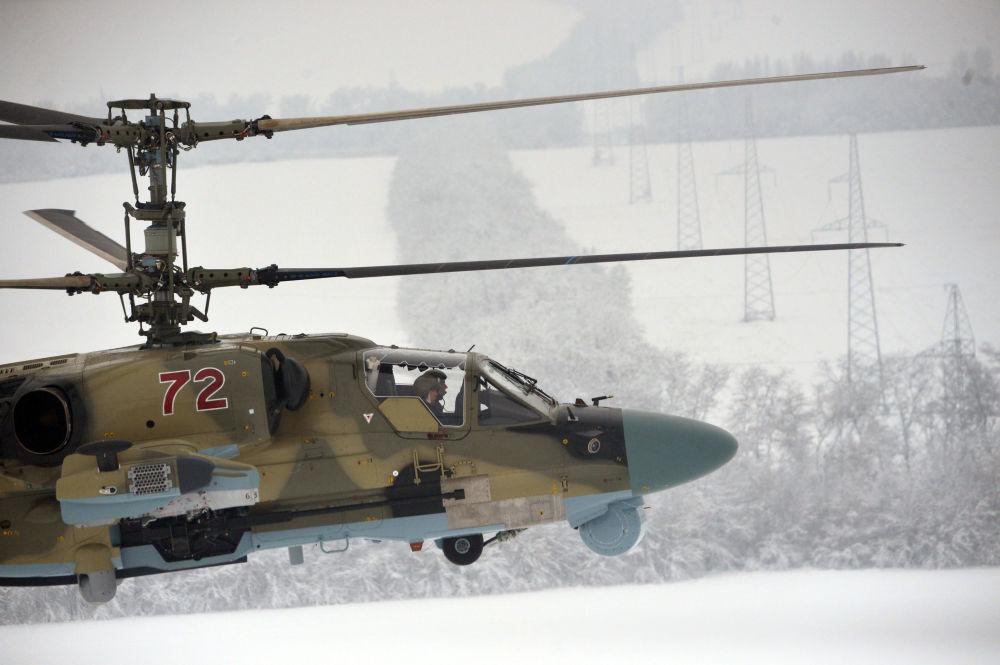 المروحية الهجومية كا-52