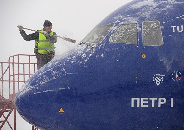 إلغاء أكثر من 50 رحلة في مطارات موسكو بسبب سوء الأحول الجوية