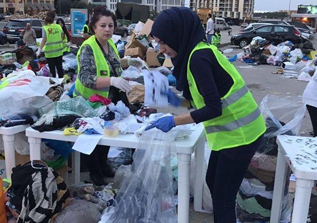 تظاهرة إنسانية وسط بيروت لمساعدة العائلات الأكثر فقراً