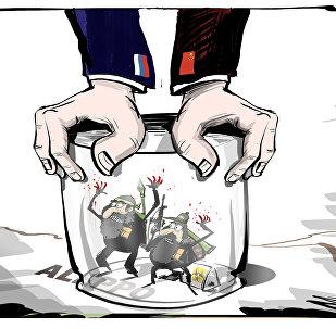 روسيا والصين معاً وسوياً ضد الإرهاب في سوريا