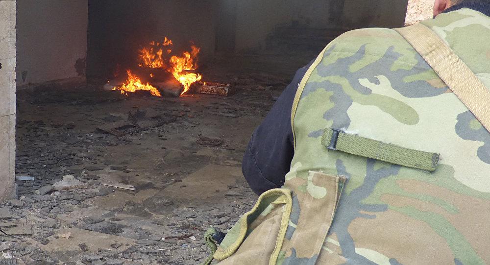 هكذا يتحرك المسلحون داخل أحياء حلب الشرقية