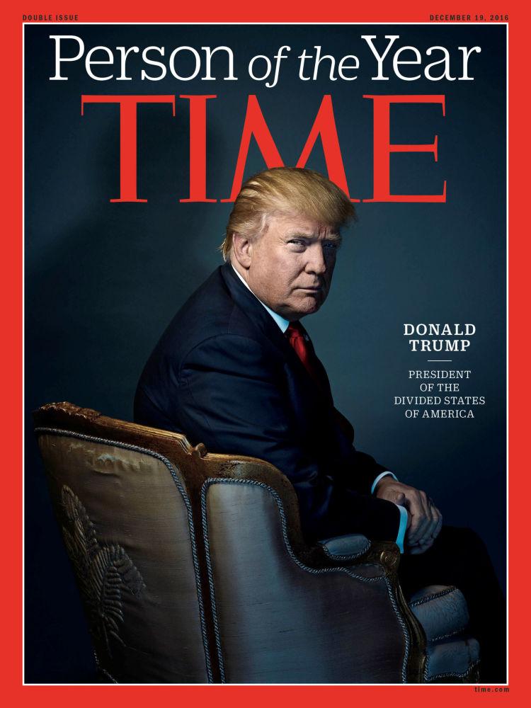 رجل العام لعام 2016 - الرئيس الأمريكي المنتخب دونالد ترامب