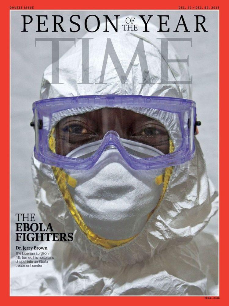 رجل العام لعام 2014 - محاربي مرض إيبولا