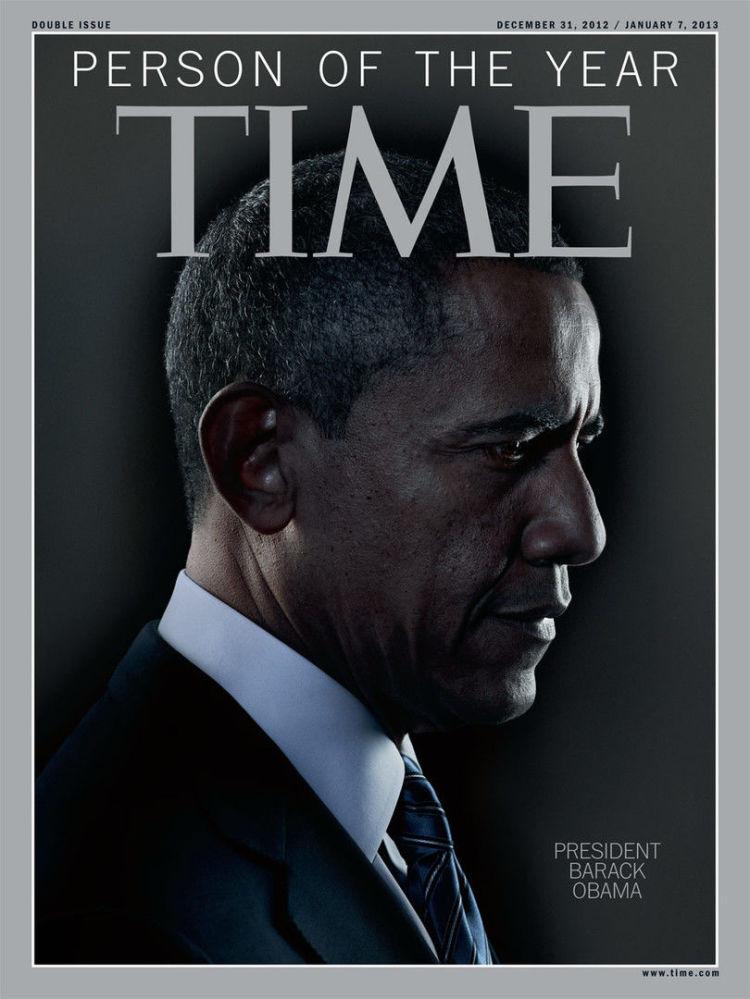 رجل العام لعام 2012 - الرئيس الأمريكي باراك أوباما