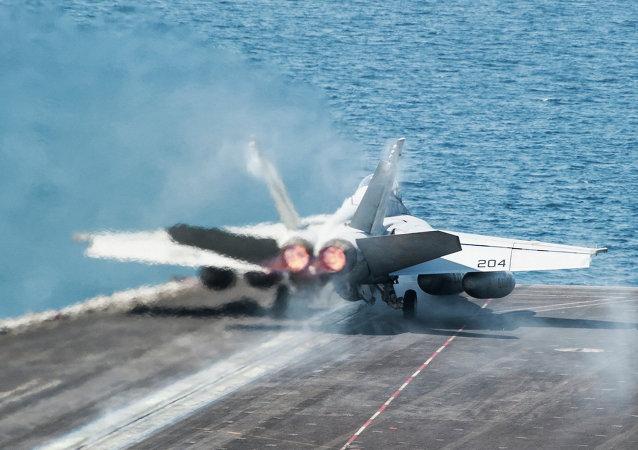 طائرة تابعة لسلاح الجو الأمريكي