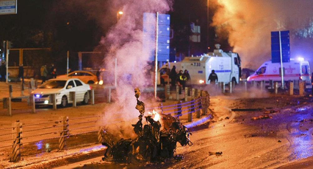 تفجير اسطنبول