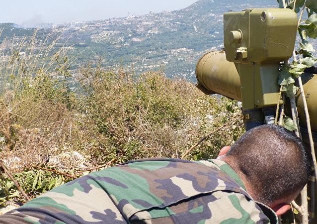 شاهد كيف تسحق الوسائط النارية  المسلحين في ريف اللاذقية