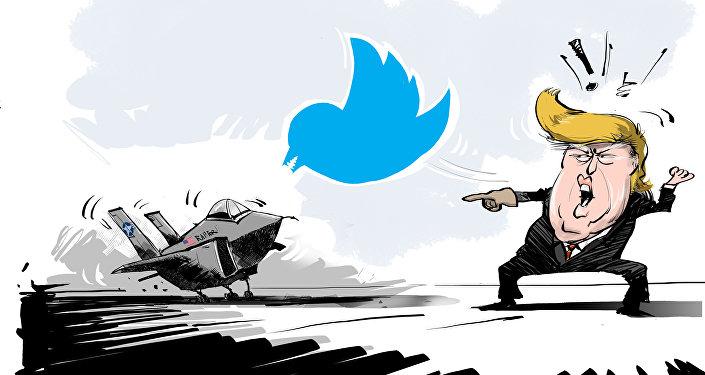 تغريدة ترامب تلحق خسائر فادحة بالشركة المصنعة لمقاتلات إف- 35