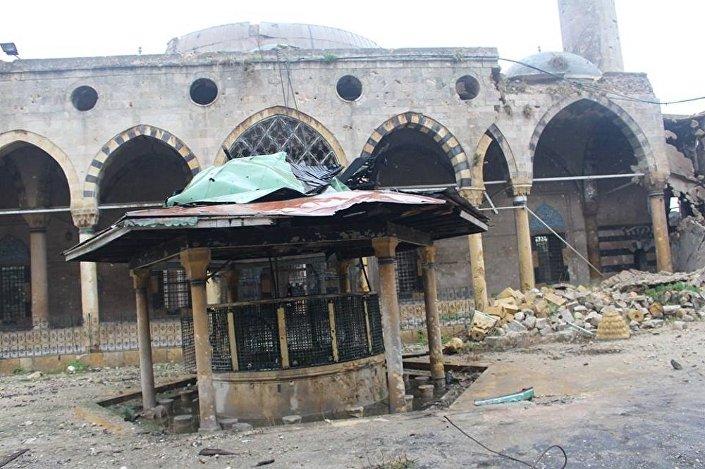 الجيش السوري يستعيد أهم  أرث ديني في حلب