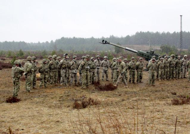 تمرين عسكري للناتو في لاتفيا