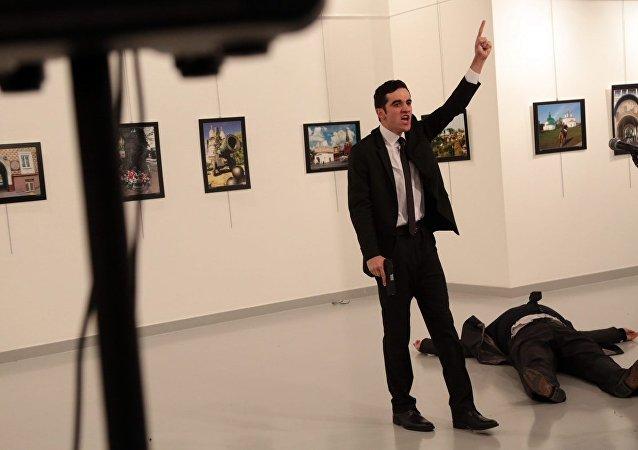 منفذ الهجوم على السفير الروسي في تركيتا