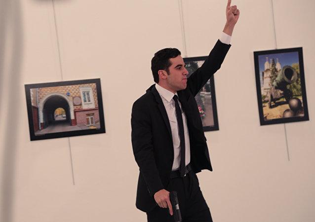 قاتل السفير الروسي في تركيا