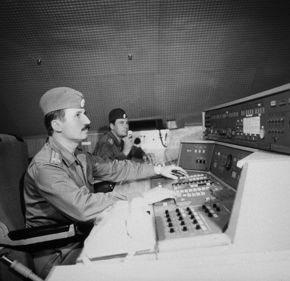 طاقم قوات الصواريخ الاستراتيجية لقوات الاتحاد السوفياتي