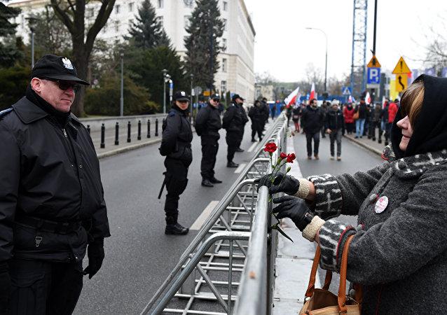 مظاهرات في بولندا