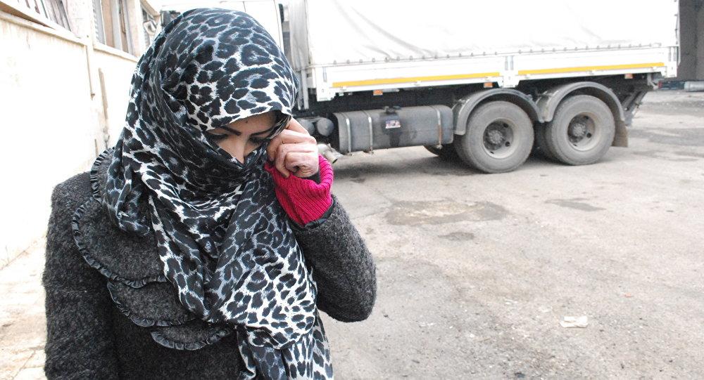 هذا ما كان يمارسه المسلحين على النساء في الأحياء الشرقية