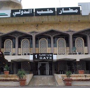 مطار حلب الدولي يعود للعمل