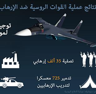 نتائج عملية القوات الروسية ضد الإرهاب في سوريا