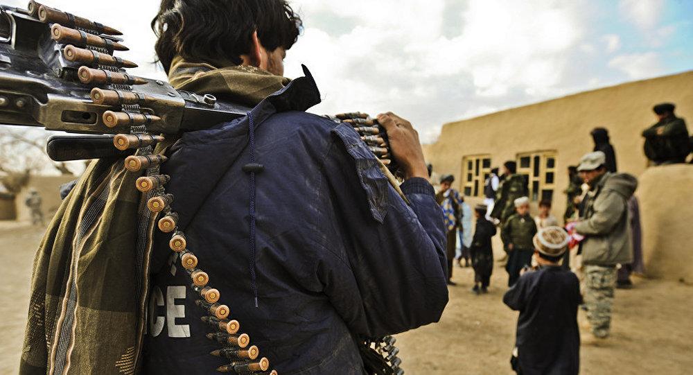 الشرطة الأفغانية