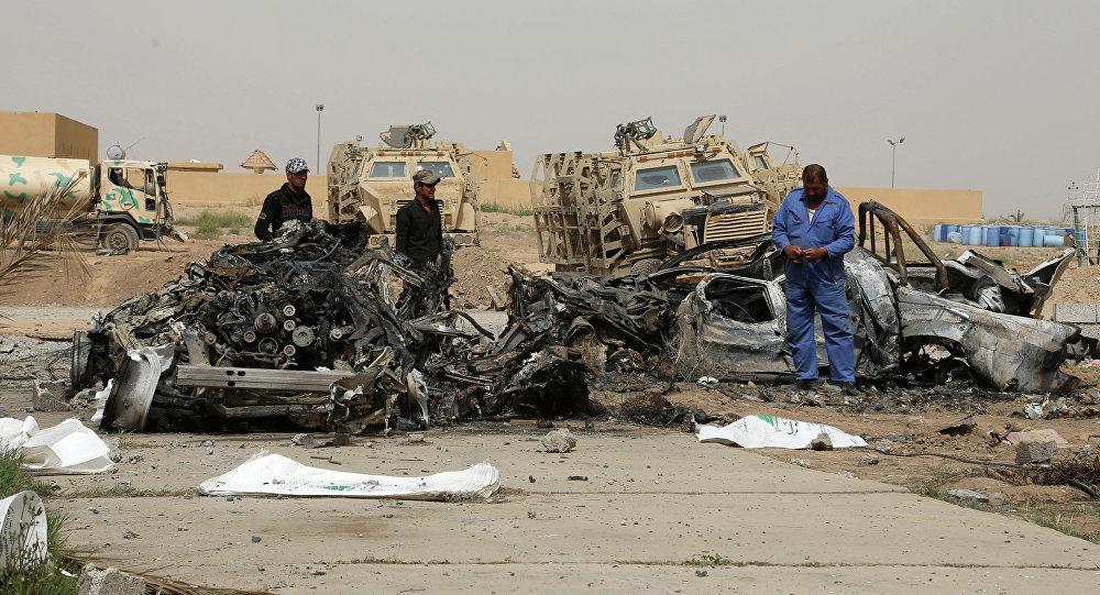 انفجار في العراق