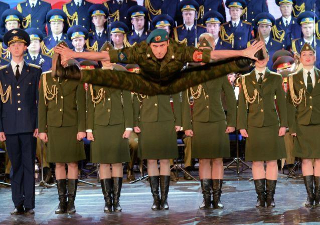 عرض لفرقة ألكسندروف في سوتشي