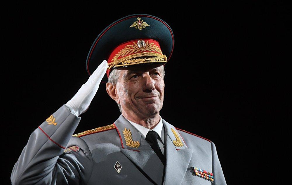 رئيس فرقة ألكسندروف، فاليري خاليلوف